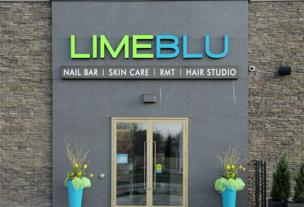 LimeBlu Channel Letters