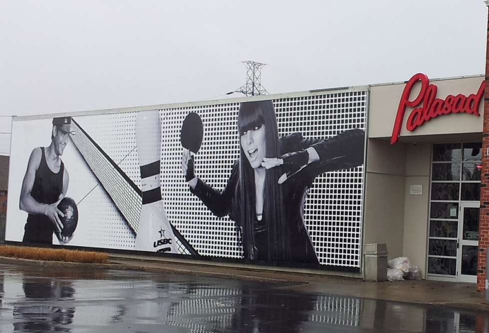 Palasad Exterior Wall Panel Graphics - Installation by Why Design