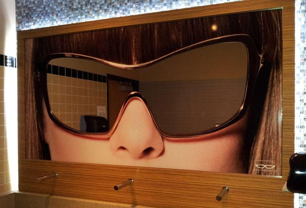 Palasad Interior Digital Mirror Graphics - Installation by Why Design