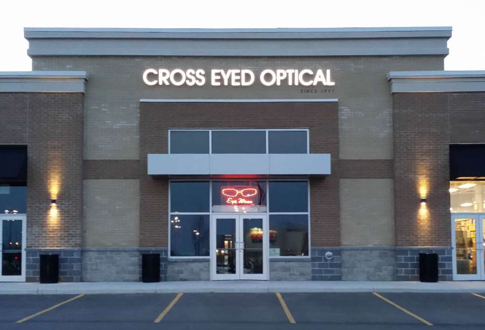 Cross Eyed Optical Channel Letters