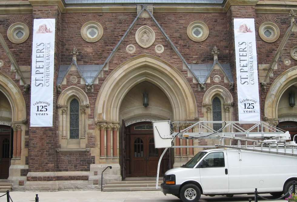 Large Banner for St. Peter's Church