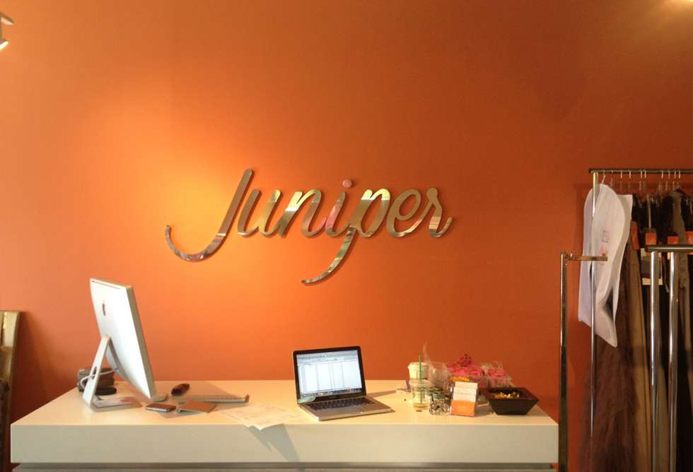 Juniper Interior Dimensional Lettering - by Why Design
