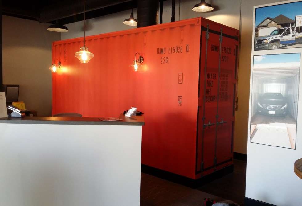 City Centre Storage Wall Graphics - Design & Install by Why Design