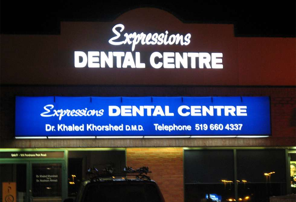 Expressions Dental Centre Awning