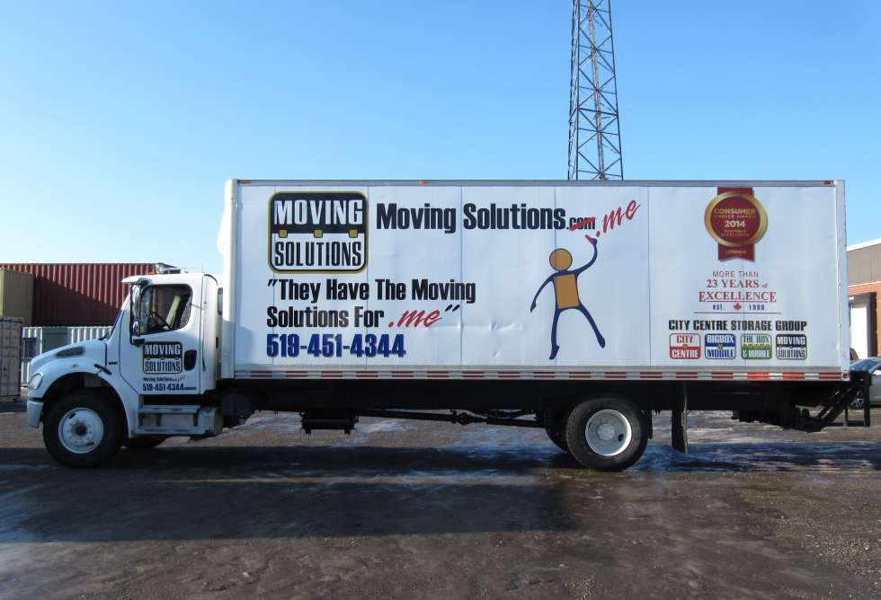 City Centre Storage - Truck Graphics - By Why Design
