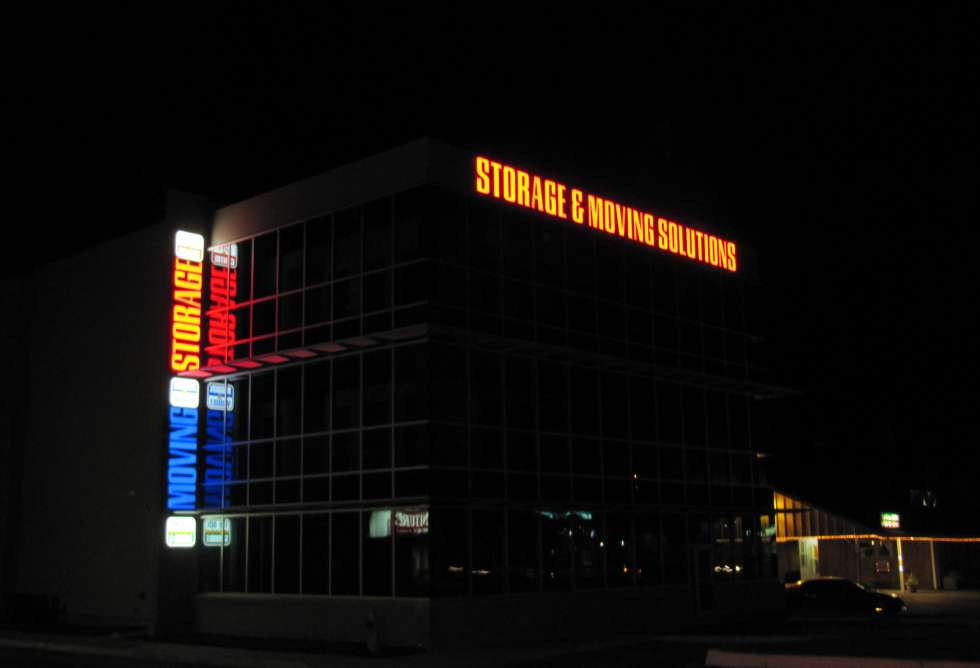 City Centre Storage - Exterior Channel Letters - By Why Design