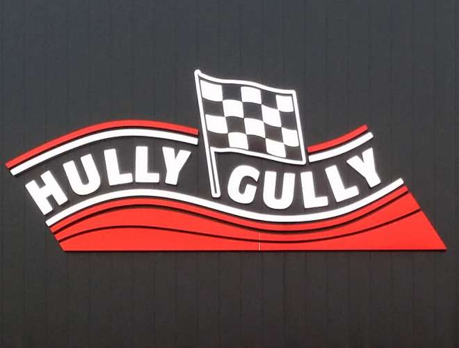 Hully Gully Dimensional Lettering