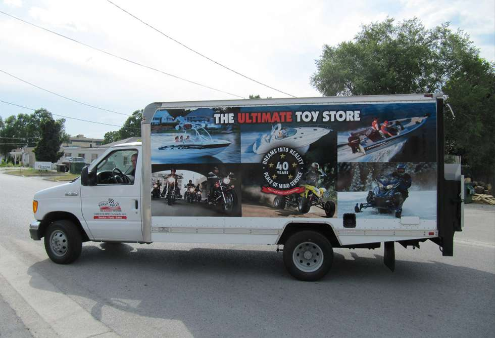 Hully Gully Cube Truck Graphics - By Why Design