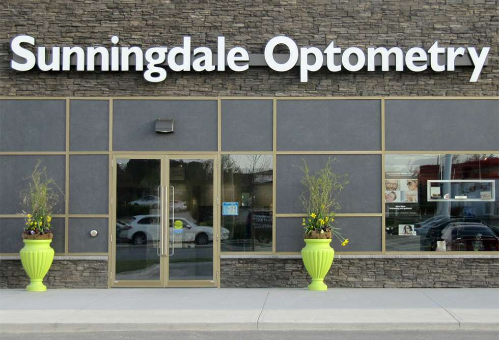 Sunningdale Optometry Channel Letters