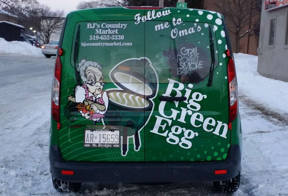 BJ's Country Market Vehicle Graphics - Design and Install by Why Design
