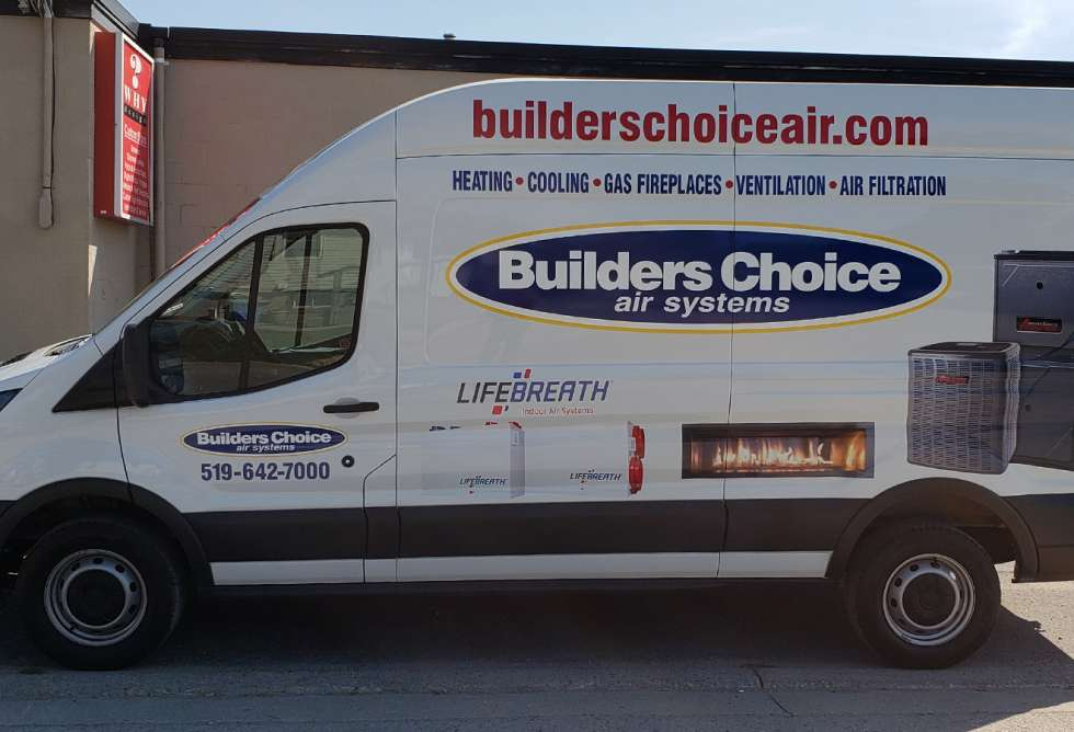 Builders Choice Vehicle Graphics