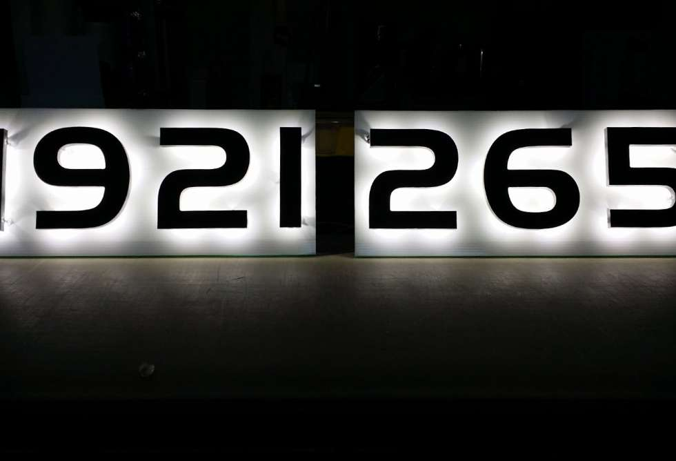 House Numbering by Why Design