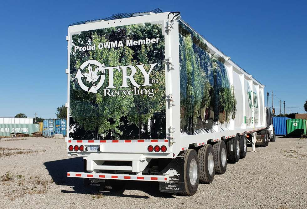 Try Recycling Trailer Wrap 2