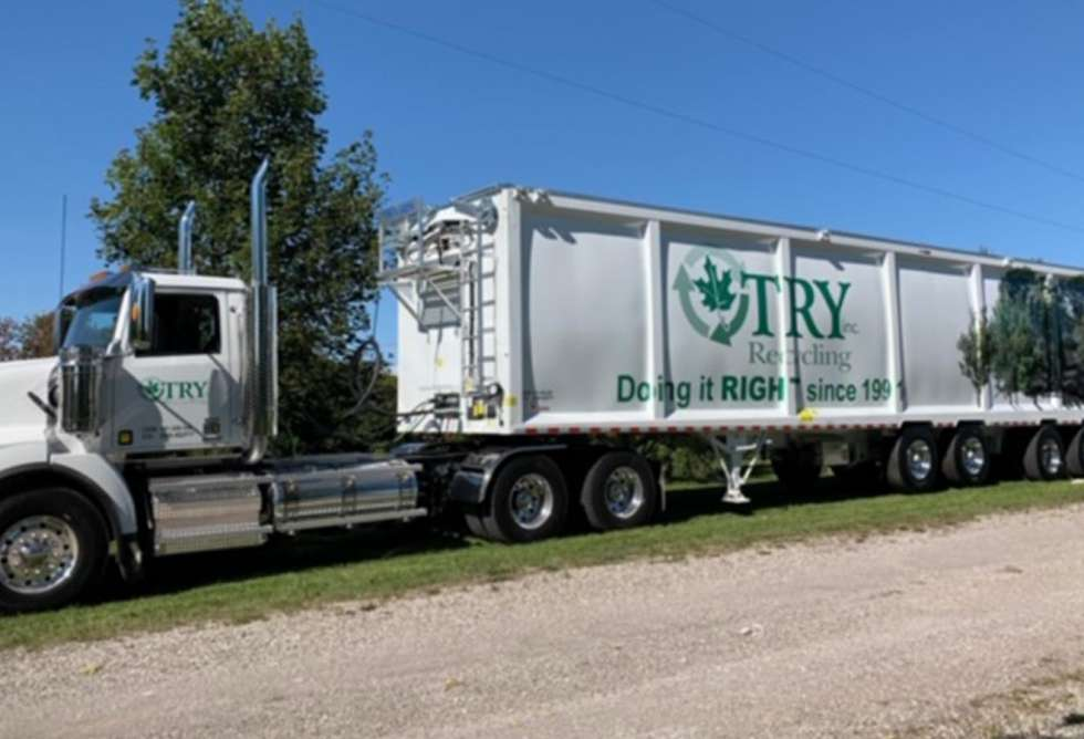 Try Recycling Trailer Wrap 3