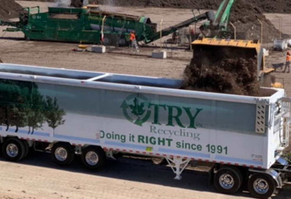 Try Recycling Trailer Wrap 5