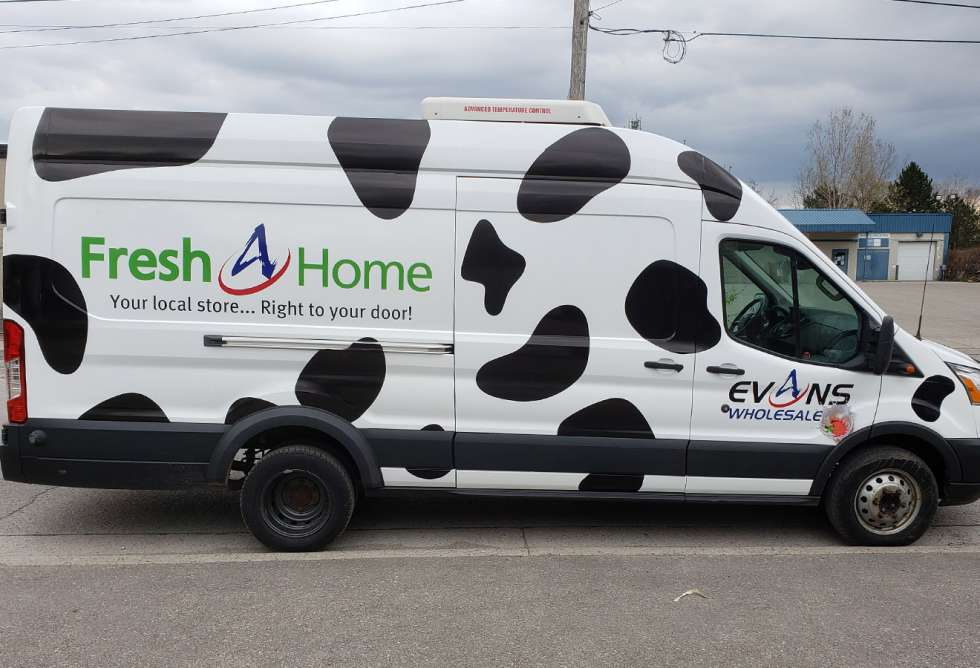 Evans Wholesale Vehicle Graphics - Design and Install by Why Design