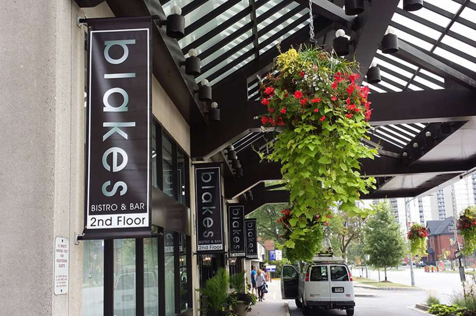 Banners for Blakes Bistro