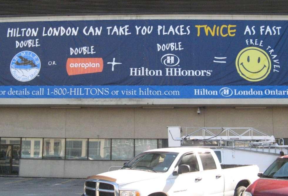 Large Banner for Hilton
