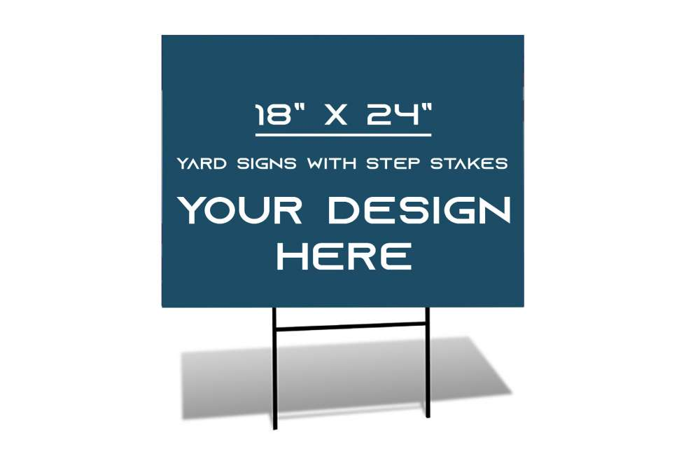 Yard Signs by Why Design